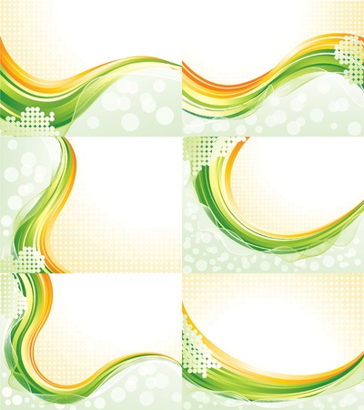 Abstract flowing backgrounds