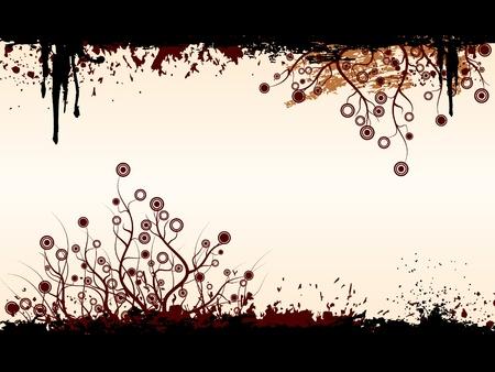 backlit: Grunge background