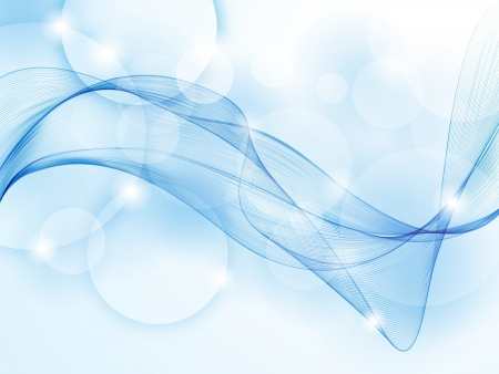 abstract light: Abstract blue background Illustration