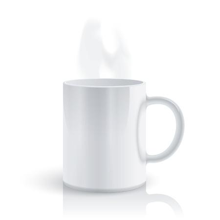 Hot mug Vector