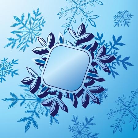 holiday season: Snowflake banner