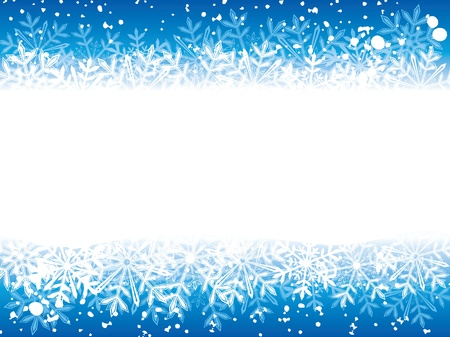 Winter background  Eps8  Vector
