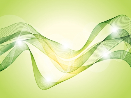 Abstract light green background Stock Vector - 14846368