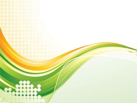 Wave pattern background Иллюстрация