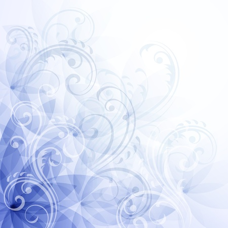 꽃 파란색 배경
