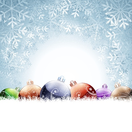 christmas decorations with white background: Christmas card