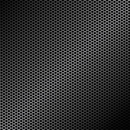 malla metalica: Textura de metal Vectores
