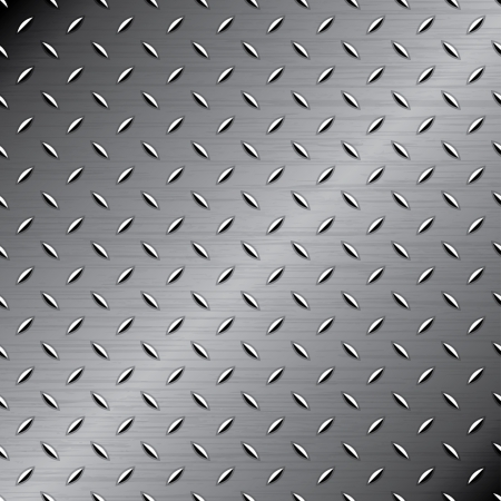 aluminium wallpaper: Seamless metal texture Illustration