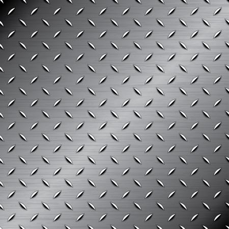 malla metalica: Seamless textura de metal Vectores