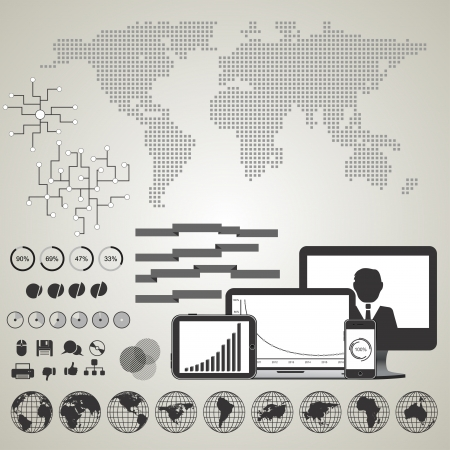 Infographics Illustration