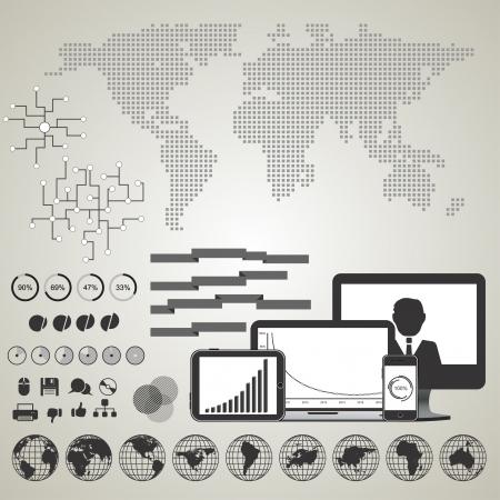 Infographics Иллюстрация