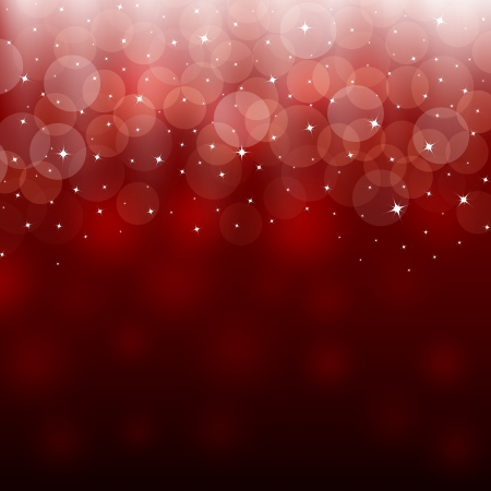 red blur: Light red holiday abstract background
