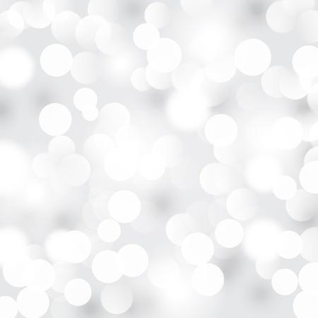 боке: Светлый фон абстрактные серебра