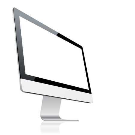 pc icon: Computer monitor