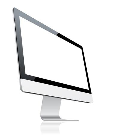monitor de computadora: Monitor de la computadora Vectores