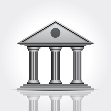 capitol: Bank icon