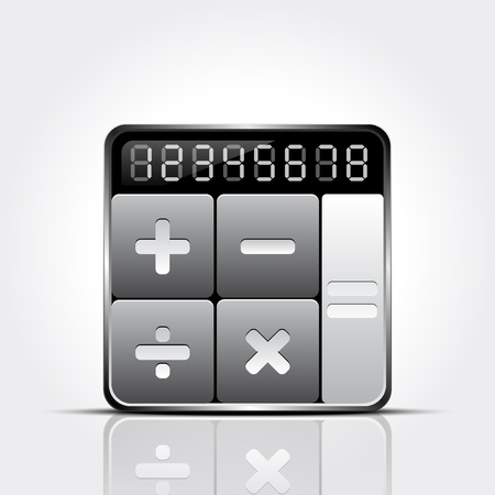 equal to: Calculator icon
