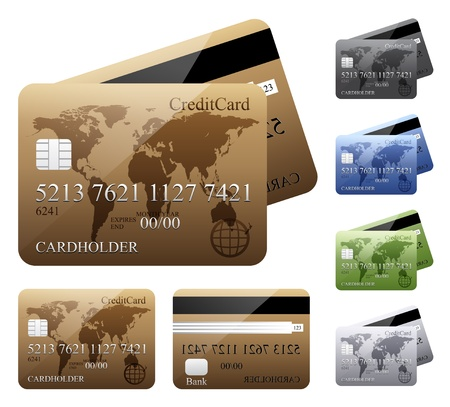 Credit cards Stock Vector - 17181789