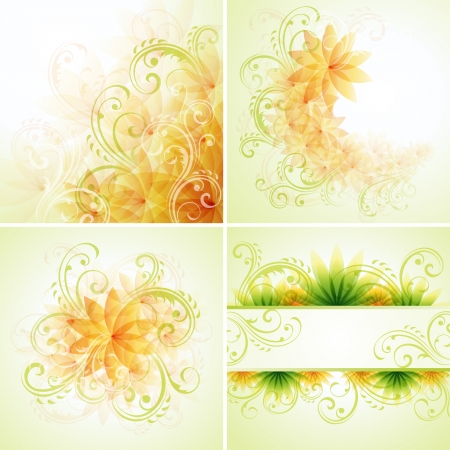 Floral designs Illustration