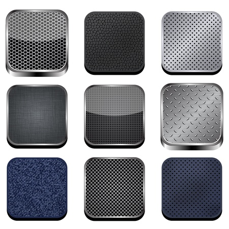 carbon fibre: Textured apps