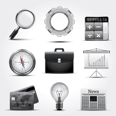icons site search: Business icons