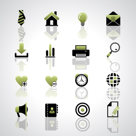 Web icons Stock Vector - 17553672