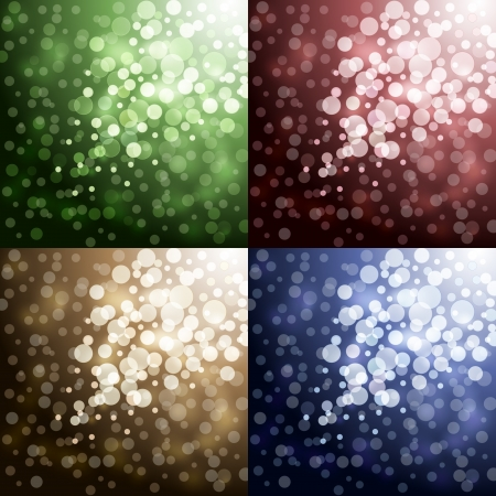 Lights on color backgrounds Stock Vector - 17553700