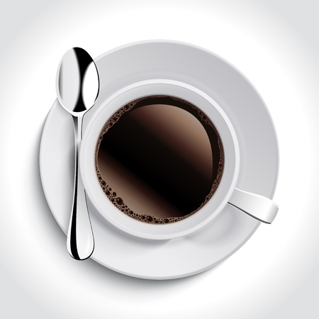 cup: Cup of coffee