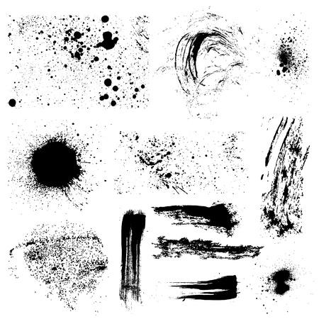 ink spot: Grunge elements