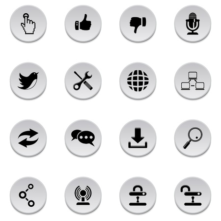 Communication icons Stock Vector - 17922003