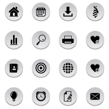 Web icons Stock Vector - 17922007