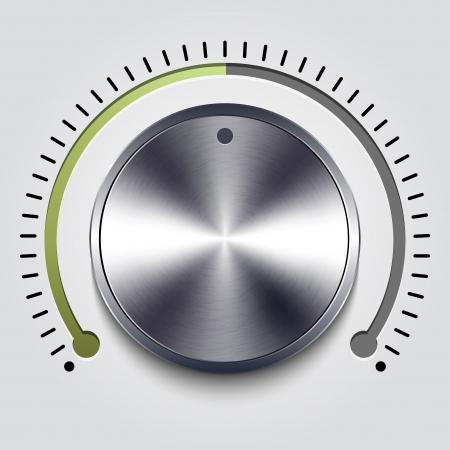 knobs: Volume knob