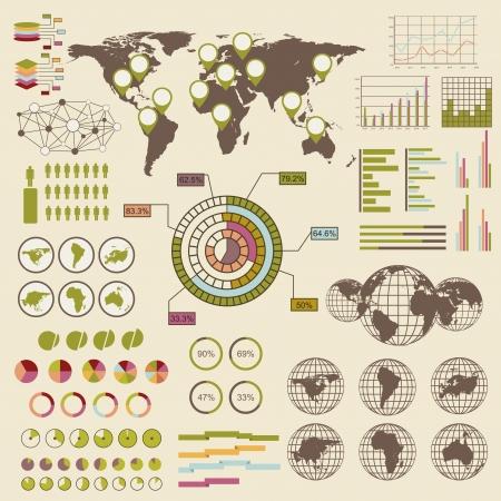 Infographic elements Stock Vector - 18721536