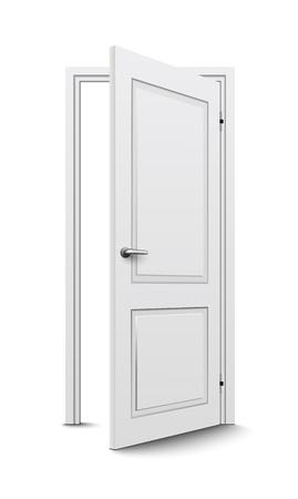 wooden doors: Abra la puerta