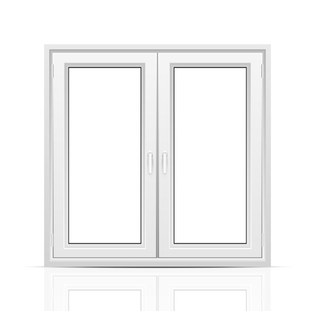 Closed window Stock Vector - 19694585