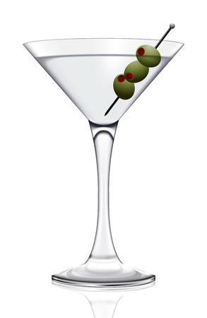 pellucid: Martini glass