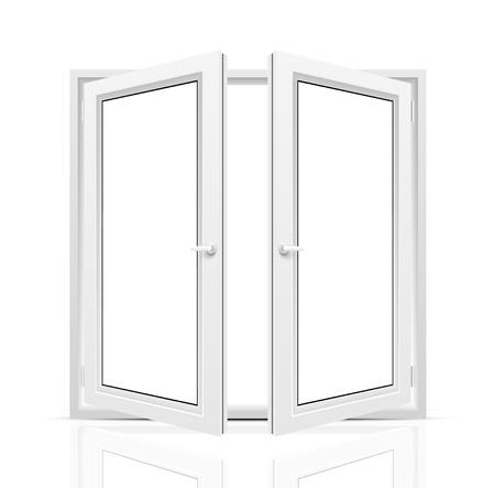 Open window Stock Vector - 19694591