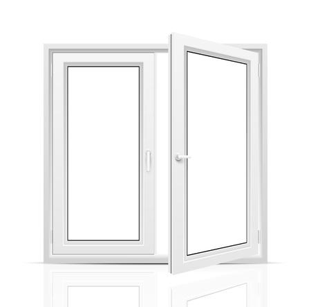 cadre noir et blanc: Ouvrir la fen�tre