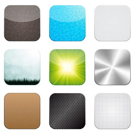 Vector app icon set Vector