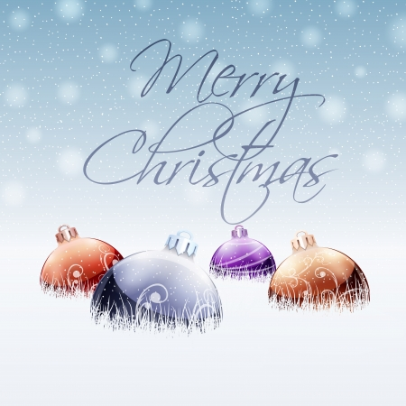 Christmas Greeting Card Stock Vector - 22173660
