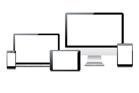 palmtop: Electronic devices set