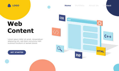 Programmer and Engineering Development Vector Illustration Concept, Suitable for web landing page, ui, mobile app, editorial design, flyer, banner, and other related occasion