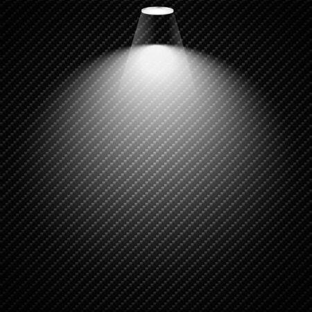 Vector Spotlights. Scene. Light Effects. Vector illustration.