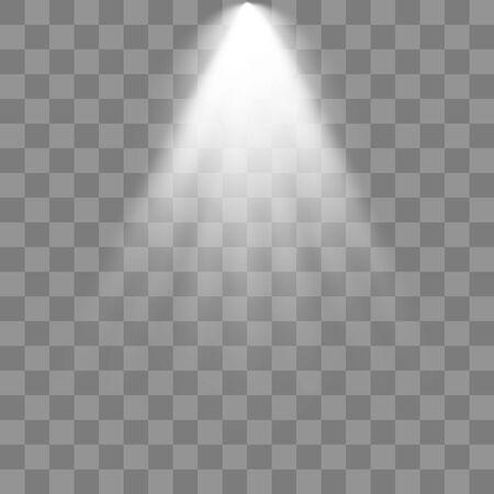 Spotlights Scene. Light Effects illustration