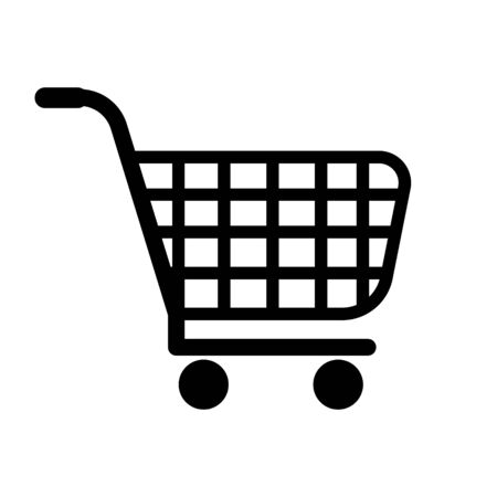 Shopping Cart Icon, flat design best vector icon.  イラスト・ベクター素材