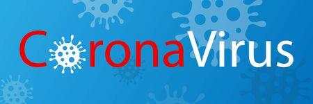 Coronavirus disease, corona virus under the microscope. Severe acute respiratory syndrome coronavirus, COVID-19. Novel coronavirus symbol, nCov-19 Illustration