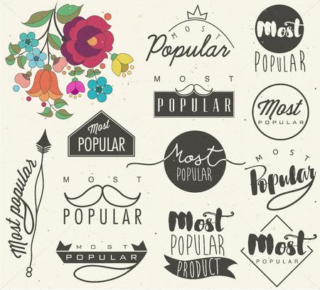 most popular: Most Popular.