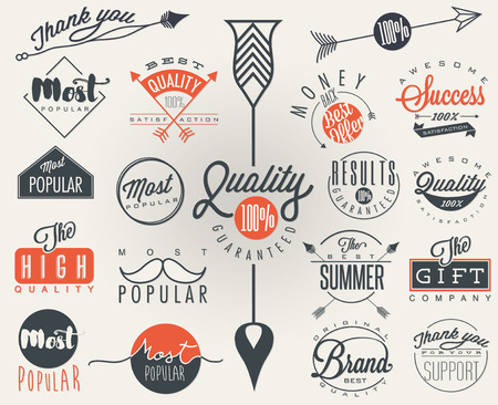 most popular: Premium Quality, Most Popular labels collection.