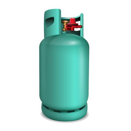 Gas tank vector illustration Иллюстрация