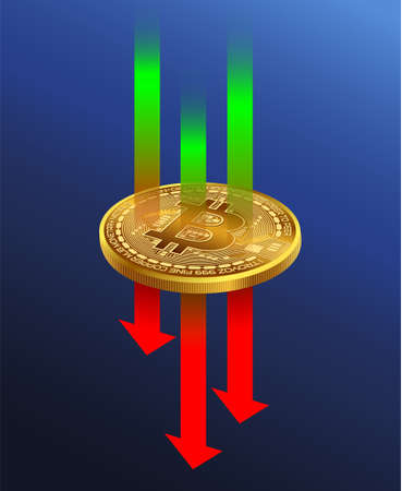 Bitcoin Trading Market for Cryptocurrencies There are both rising and falling stock markets, more volatile than other markets. Иллюстрация